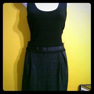 Black Banana Republic black tank Tweed minidress 4